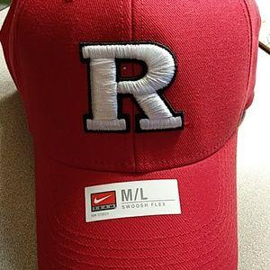 NWOT Nike Rutgers Scarlet Knights Cap Hat Size M/L